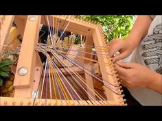AWESOME! Japanese Braiding (Kumihimo) in Blackpool - YouTube