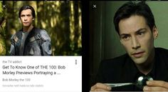 Bob Morley (Bellamy- The 100) looks like keanu I think!