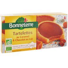 Naturalia, magasins bio et nature - tartelette-choco-caramel-125g - epicerie-sucree - biscuits-au-chocolat