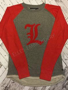 1204aa28c56 Louisville Cardinals Ladies Red Elizabeth Pullover Hoodie Sweatshirt ...