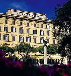 St Regis Grand Hotel Rome front view#monogramsvacation
