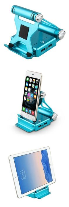 This premium stand does it all--propping up your smartphone or tablet at an optimal viewing angle, and charging it at the same time. When not in use, it folds into a compact square you can easily slip it into your bag for maximum portability.