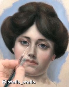 Timelapse painting of one of John William Godward's masterpiece Acrylic Portrait Painting, Oil Portrait, John William Godward, Classic Paintings, Art Courses, Painting Process, Renaissance Art, Art Drawings Sketches, Art Sketchbook