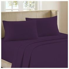 BedClothes Luxury 4-Piece Bamboo Comfort Bedding Sheet Set – Purple – Queen Searching bedroom  pictures?  http://aluxurybed.com/product/bedclothes-luxury-4-piece-bamboo-comfort-bedding-sheet-set-purple-queen/