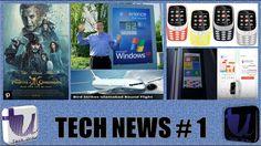 Tech News # 1 - Nokia 3310 in India, What Bill Gates Career? WannaCry an...