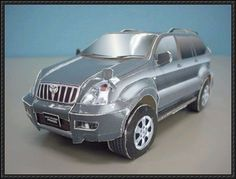 Toyota Land Cruiser Prado Paper Car Free Paper Model Download - http://www.papercraftsquare.com/toyota-land-cruiser-prado-paper-car-free-paper-model-download.html