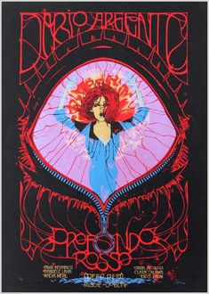 Poster for Daio Argento movie. (no clue what this is, but I LOVE the poster)