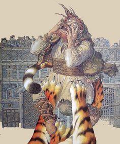 "А.Михнушев (Mikhnushev) ,""Леди или тигр"""
