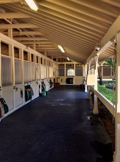 bing images of breezeways | Breezeway stable- I really really really like this- any way possible ...