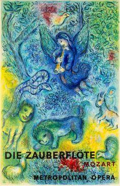 Marc Chagall, 'The Magic Flute', 1967