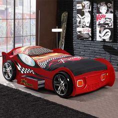 Kinderbett auto bmw  Bett Disney Cars Lightning McQueen - Das Autobett zum Disney Film ...