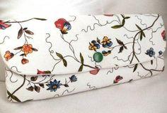 Clutches - Handtasche, Clutch - ein Designerstück von Melannelin bei DaWanda