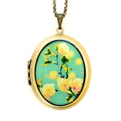 Fab.com | Song For Spring Locket Necklace