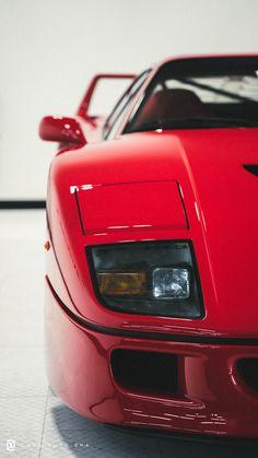Ferrari F40, Ferrari Mondial, Mercedes Wallpaper, Cool Car Drawings, Exotic Sports Cars, Exotic Cars, Classic Race Cars, Best Luxury Cars, Car Photography