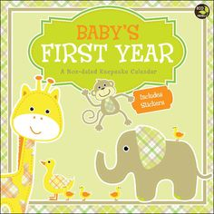 Baby's First Year Wall Calendar