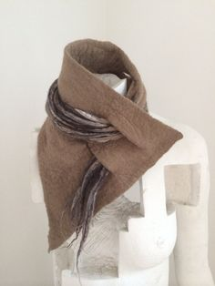 READY TO SHIP Winter Necklace Scarf: Cowl Lariat by ChambreRouge