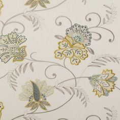 Clarke & Clarke - Bukhara - Citrus - Curtain fabric