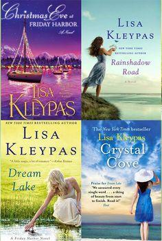 Românticos e Eróticos  Book: Lisa Kleypas  - Friday Harbor #1 e #2