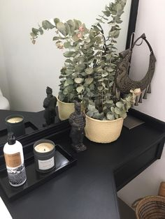 Bathroom decor Marble Tray, Black Marble, Trays, Bathroom, Modern, Stone Crafts, Cup Holders, Natural Stones, Washroom