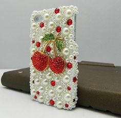 Cherry #iPhone case! Cute! www.cherryman.com