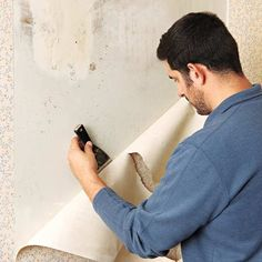 Photo: Ryan Benyi | thisoldhouse.com | from Removing Wallpaper From Plaster Walls