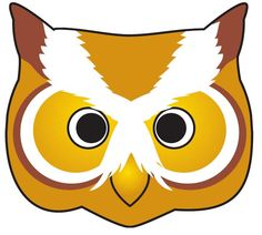 yellow owl face mask for halloween Owl Mask, Bird Masks, Printable Masks, Printables, Free Printable, Animal Mask Templates, Kids Pages, Animal Masks, Cute Owl
