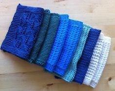 Lappone: Knitted dishcloths and washcloths