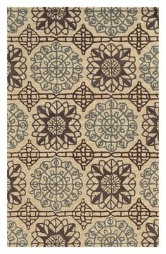 Rizzy Home Starburst Medallions Hand Tufted Area Rug
