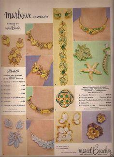 Marcel Boucher - Marboux Jewelry Advertisement  1956