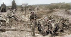Breath-taking Colourised Photos For The Anniversary Of Armistice Day – By Ben Wheeler and Michael Carroll