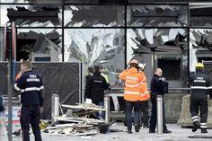 صدای فریادی به زبان فارسی پس از انفجار بروکسل!   ویدیو