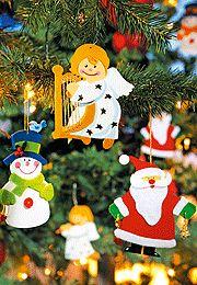 Basteln für Weihnachten: Christbaumschmuck basteln