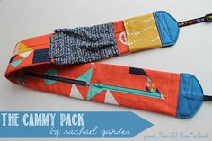 Fanny pack plus camera strap = cammy pack! ceinture à poches Bag Pattern Free, Sewing Patterns Free, Free Sewing, Sewing Tutorials, Sewing Crafts, Sewing Projects, Bag Tutorials, Pattern Sewing, Sewing Kits
