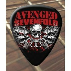 Printed Picks Company Avenged Sevenfold Bat (Black) Guitar Picks x 5 Medium by Printed Picks Company. $7.99. Avenged Sevenfold Bat (Black) Guitar Picks x 5 Medium. Save 22%!