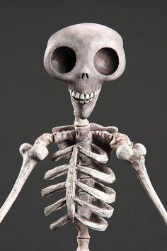 Corpse Bride Skeleton Puppet