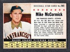 1961 Post Mike McCormick