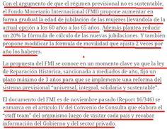 el blog de josé rubén sentís: (5) jubilaciones a la baja: lo que le pidió el fmi...