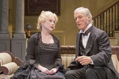 Richard Chamberlain in a production of THE HEIRESS at the Pasadena Playhouse