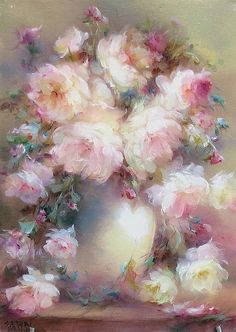 Foto Art, China Painting, Painting Lessons, Painting Inspiration, Art Pictures, Flower Art, Watercolor Art, Canvas Art, Art Prints