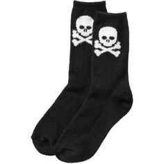 Old Navy Women's Plush Halloween Socks ($4) ❤ liked on Polyvore featuring intimates, hosiery, socks, accessories, shoes, socks/tights, women, old navy, knit socks and graphic socks