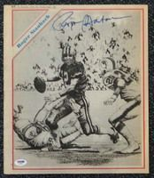 Roger Staubach Autographed Sporting News Cover Cowboys PSA/DNA #T19882