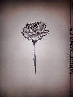 White Carnation Tattoo...