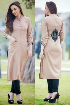 Buy lastest womens kurta and shalwar kameez in Pakistan at Oshi. Book Online affordable womens kurta and shalwar kameez in Karachi, Lahore, Islamabad, Peshawar and All across Pakistan Indian Attire, Indian Wear, Pakistani Outfits, Indian Outfits, Kurta Designs, Blouse Designs, Kurti Styles, Girl Fashion, Fashion Dresses
