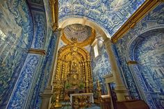 Sao Lourenco Church (St. Lawrence Church), Almancil, Portugal