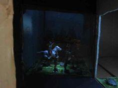 ▶ Make a Magic Illusion Box - (Pepper's Ghost Box) - YouTube Small pepper's Ghost illusion.