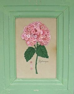 Button Hydrangea by Catherine Otto
