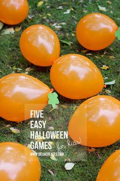 Five Easy Halloween Games For Kids. These are really fun ideas for a Halloween party! Halloween Tags, Halloween Class Party, Halloween Activities For Kids, Kids Party Games, Halloween Birthday, Holidays Halloween, Easy Halloween, Halloween Crafts, Party Fun
