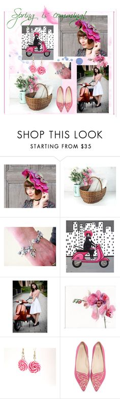 """Spring is comming!"" by filcalki ❤ liked on Polyvore featuring Sophia Webster"