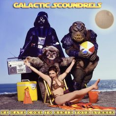 Have you listened to the @GScoundrels space mixtapes yet? The Force is strong with these Jedis... #GalacticScoundrels