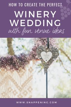 Winery Wedding Venues - The Delicate Details as featured by Snappening Winery Wedding Venues, Perfect Wedding, Our Wedding, Soft And Gentle, Shades Of Purple, Flower Making, Wedding Designs, Lilac, Backdrops